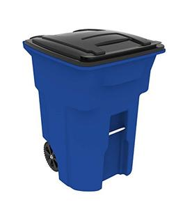 Toter 025596-R1705 Residential Heavy Duty Two Wheeled Trash