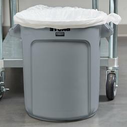 10 Gallon Rubbermaid BRUTE Plastic Gray Restaurant Kitchen T