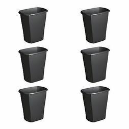 Sterilite 10529006 5.5 Gal Ultra Plastic Wastebasket Trash C