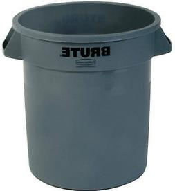 RUBBERMAID COMM PROD 10GAL GRY Trash Can 2610-00-GRAY