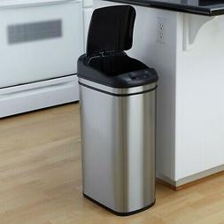11.1 Gallon Kitchen Touchless Automatic Motion Sensor Lid Op