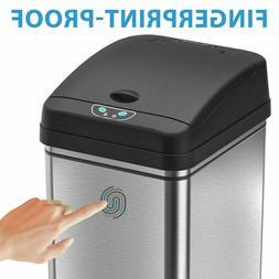 13 Gallon Automatic Sensor Touchless Deodorizer Trash Can