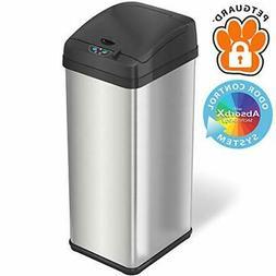 13 gallon pet proof sensor trash can