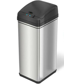 iTouchless 13 Gallon Pet-Proof Sensor Trash Can-AbsorbX Odor