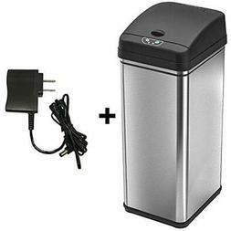 13 Gallon Sensor Trash Can Adapter Automatic Bin Odor Filter