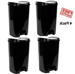13 Gallon Trash Can 49 Liters Foot Pedal Step On Kitchen Bin