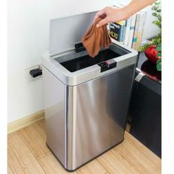 13Gallon/50L Inductive Touchless Full-automatic Fingerprint