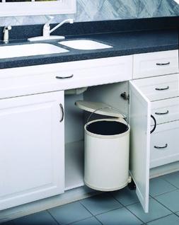 Rev-A-Shelf 8-010412-15 15 Liter Container - Metal-White