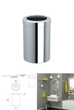 Gatco 1910 Waste Can Modern Bathroom, Kitchen, Office Trash