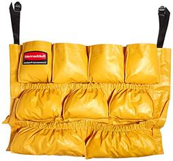 Rubbermaid 1913171 Caddy Bag For Brute Container, Yellow