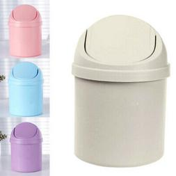 2019 Desktop Trash Can Mini Countertop Waste Garbage With Ro