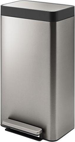 Kohler 20941-ST 8-Gallon Loft Stainless Step Trash Can, Stai