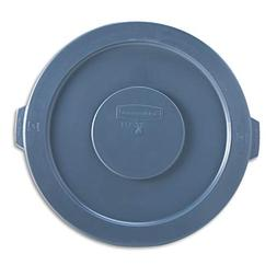 Rubbermaid 263100GY Round Flat Top Lid, for 32-Gallon Round
