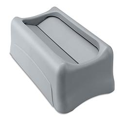 Rubbermaid Commercial 267360GY Swing Lid for Slim Jim Waste