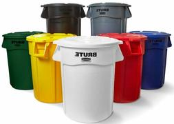 3-Pack Commercial 10 Gallon Round Trash Can, Bulk Ingredient