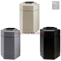30 gallon hex trash can indoor outdoor
