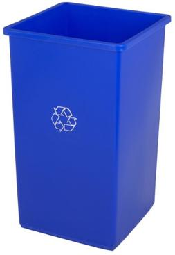 Continental 32-1 32-Gallon Swingline Receptacle with Recycle