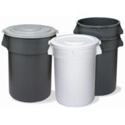 Continental 3200YW 32-Gallon Huskee LLDPE Waste Receptacle,