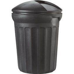 United Solutions 32Gal Round Trash Can