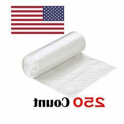 "Ox Plastics 33-39 Gallon Trash Can Liner, High Density 33"""