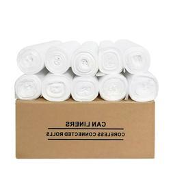 33 x 40 12-micron 250Pcs High Density Clear 33 Gallon Trash