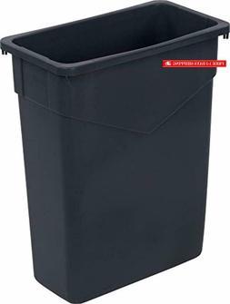 Carlisle 34201523 TrimLine Rectangle Waste Container Trash C