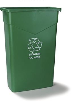 Carlisle 342023REC09 TrimLine LLDPE Recycle Can, 23 Gallon C