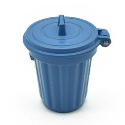 35*30mm Dollhouse Mini Trash Can Garbage Bin Furniture Kid T