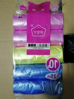 4 Gallon Colored Garbage Bags Bathroom Trash Can Liners