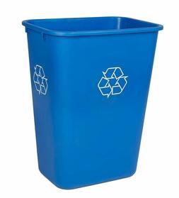 Mountain Tech Eco Solutions 41 Quart Blue Plastic Indoor Rec