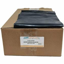 Plasticmill 42 Gallon, Black, 6 Mil, 33X48, 25 Bags/Case, Ga