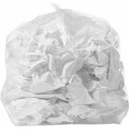 42 Gallon Clear 3 Mil 33 50 Bags Case Ultra Heavy Duty Garba