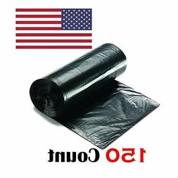 Ox Plastics 45-50 Gallon Trash Can Liner, High Density 43""