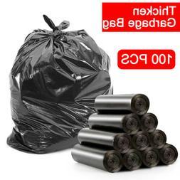 5 Rolls Garbage Trash Can Liner Bags Waste Clean Up Storage