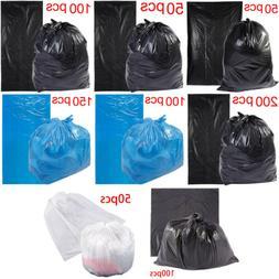 50-200pcs Set Garbage Trash Bag Box Can Kitchen Toilet Clean