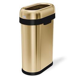 simplehuman 50 Liter / 13.2 Gallon Commercial Heavy-Gauge St