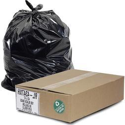 "Aluf Plastics 56 Gallon Trash Can Liners  - 43"" x 47"" - Thic"