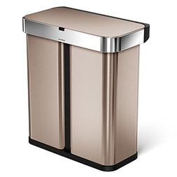 58 liter stainless steel touch