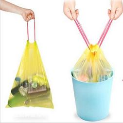 60ct Drawstring Trash Bags Trash Can Liners Garbage Clean Up
