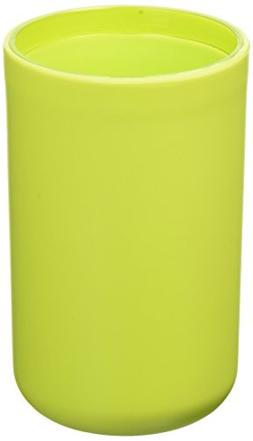 EVIDECO Vanity Bathroom Tumbler Soft Touch Design, Green