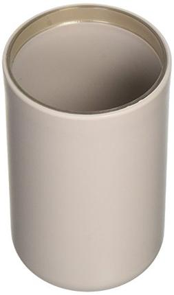 EVIDECO Vanity Bathroom Tumbler Soft Touch Design Taupe