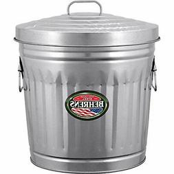 6210 Trash Recycling & Compost Galvanized Steel Can, 10-Gall