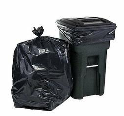 65 Gallon Heavy Duty Black/Brown Trash Bag/ Trash Can Liner