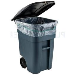 Plasticplace 65 Gallon Trash Bags │ 1.5 Mil Clear Heavy Du
