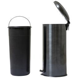 8 Gallon / 30 Liter Round Gunmetal Painting Stainless Steel