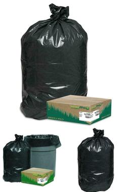 80 Large 33 Gallon Commercial Trash Can Bags Heavy Garbage D