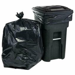 95 96 Gallon Garbage Can Liners Heavy Duty Trash Bags 1.5 Mi