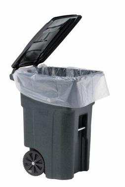 f00968427acc3 PlasticMill 95 Gallon Clear / Black Heavy Duty