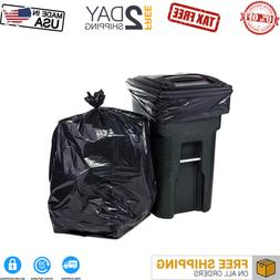 95 GALLON WHEELED TRASH CAN Lid Garbage Container Outdoor Wa