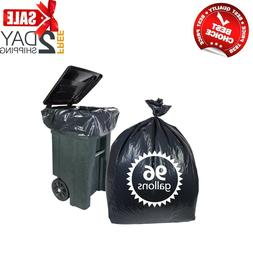 96 GALLON WHEELED TRASH CAN Lid Garbage Container Outdoor Wa